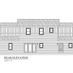 Capistrano Modular Home Front Exterior Rear Elevation