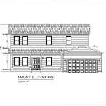 Front Elevation Conway Family Build Your Own Modular Homes