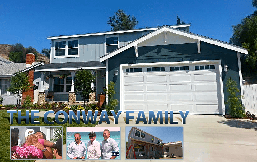 """As Seen on Ellen TV""  – The Conway Family Project – A Great Home For A Special Family!"