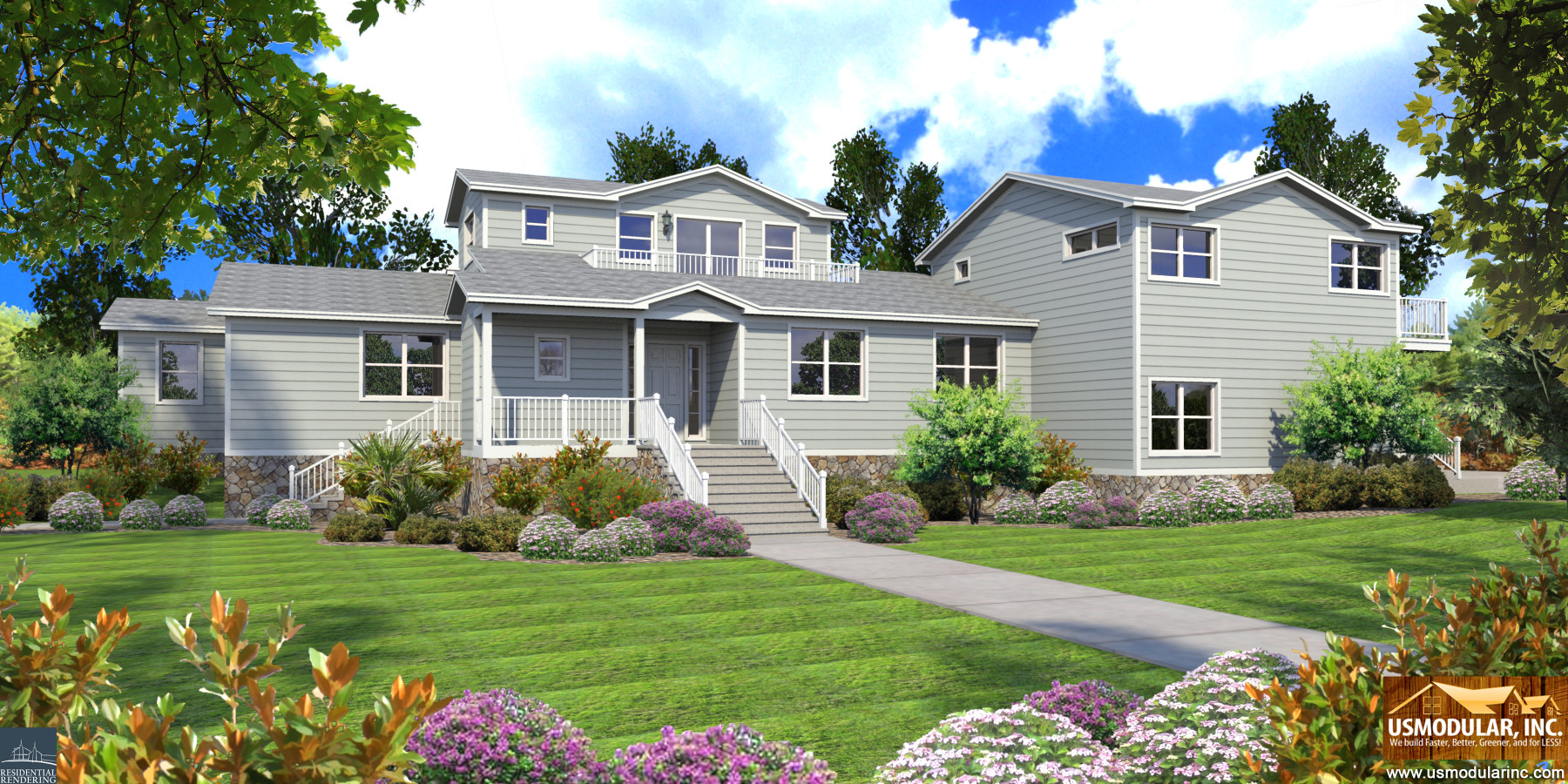 Build your multi generational prefab home for generations for Multi generational home builders