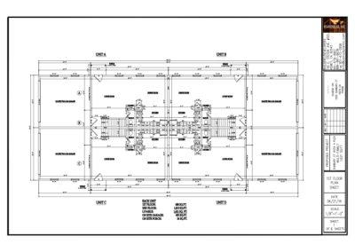 Vista Four-Plex Multi Family Project