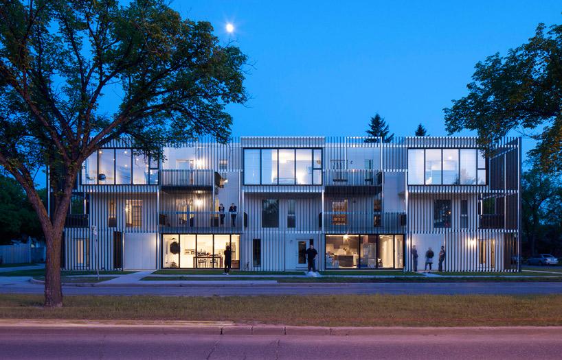 Modern Prefab Apartments