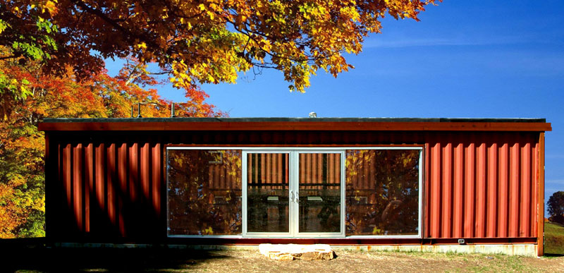 7 Homes Built Using Shipping Containers