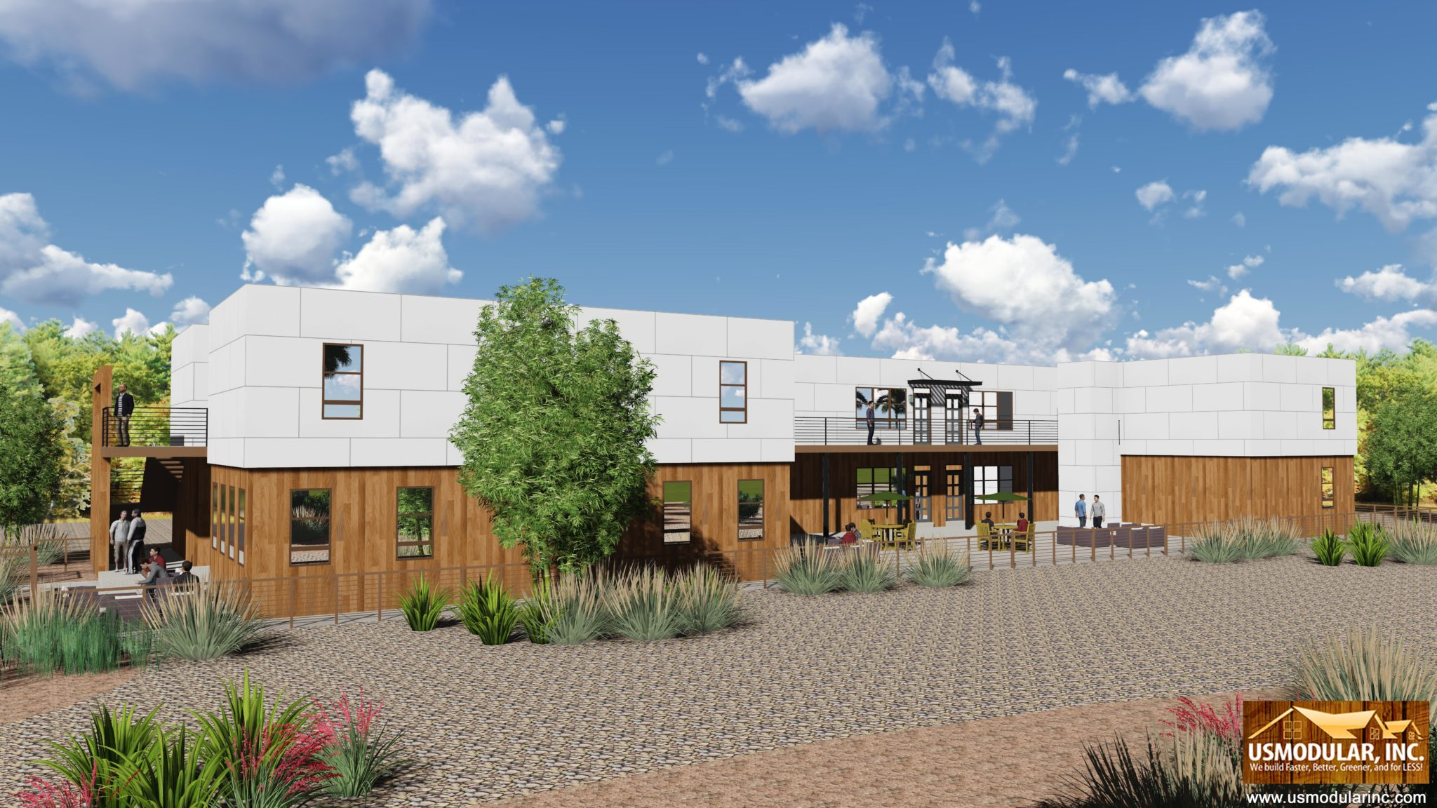 Modular construction creates affordable housing for for Affordable house construction