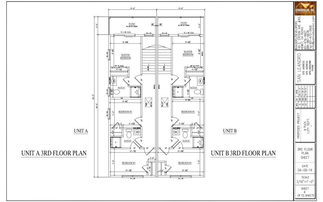 Bay Area Multi-Family Modular Project