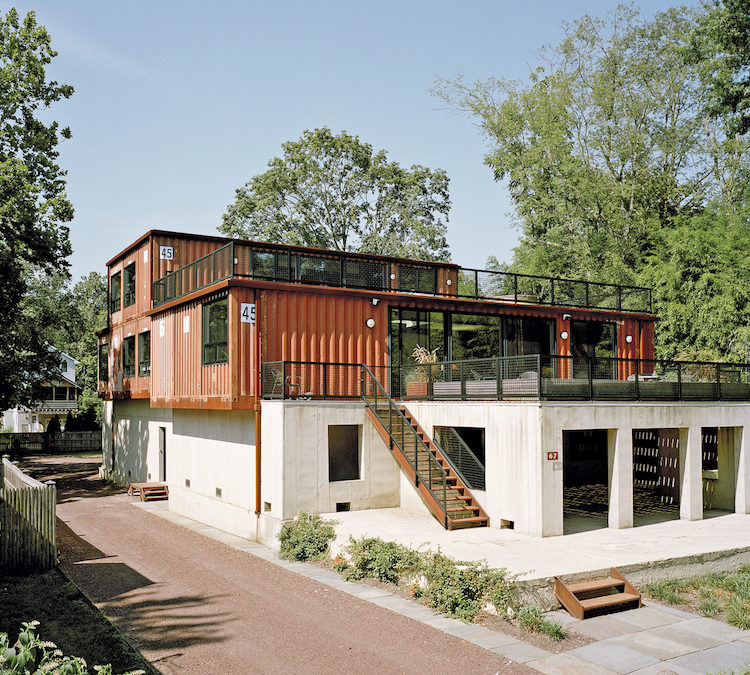 Old Shipping Containers Given New Life