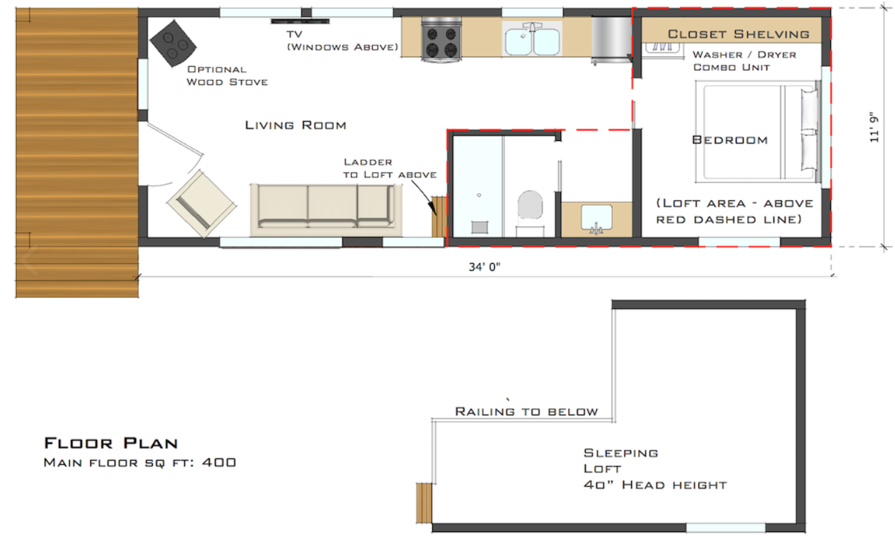 Adu unit plans 400 modular floor plans us modular inc for Floor design sf