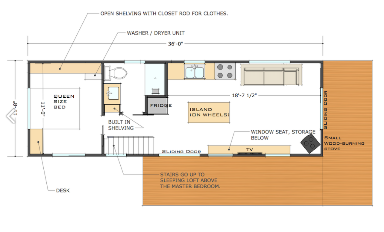 Modern loft floor plans home design for Modern loft house plans