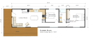 Modular floor plans us modular inc california builders for Adu floor plans