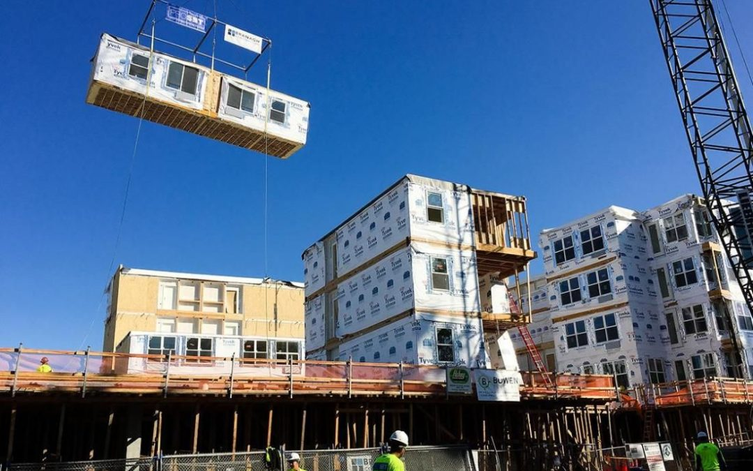 San Jose Embarks On Modular Construction For Affordable Housing