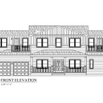 Capistrano Modular Home Front Exterior Front Elevation
