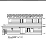 Rear Elavation Conway Family Build Your Own Modular Homes