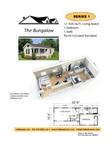 Bungalow 1 Bed 1 Bath 426 SF